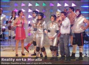 Máscaras Aztlán en la tele chilena