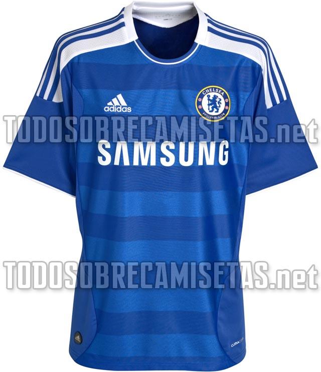 Nueva Camiseta Adidas Del Chelsea  Temporada 2011 2012