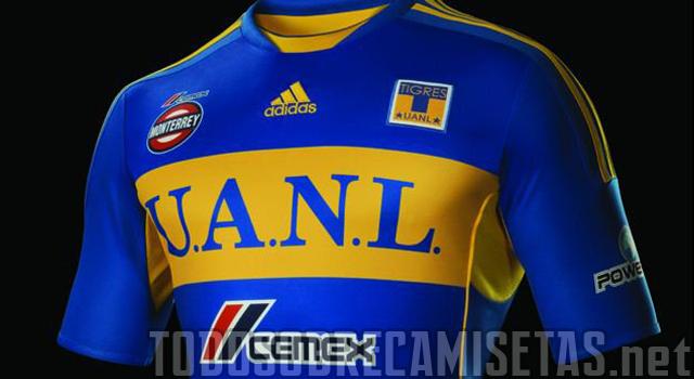 Los Tigres de la UANL presentaron oficialmente su nueva camiseta Adidas  para los partidos de visitantes 095212c6f1652