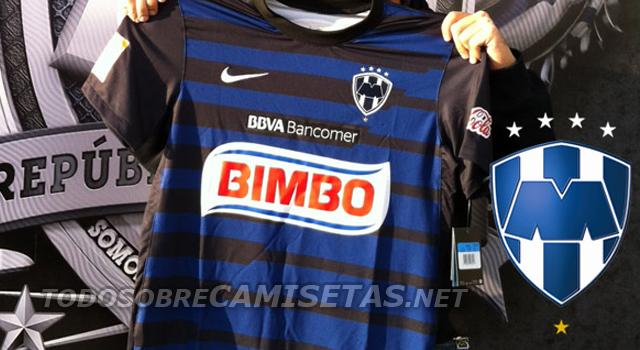 Nueva camiseta Nike de Rayados de Monterrey 2012