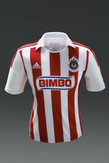 Nueva camiseta de las Chivas del Guadalajara; temporada 2012-2013
