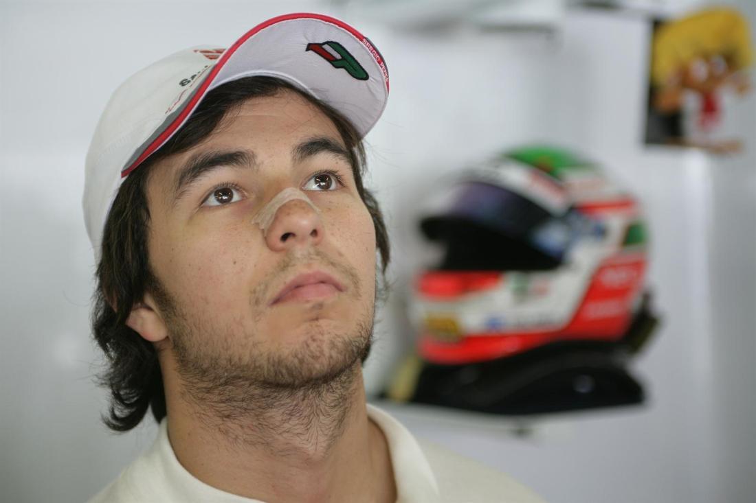 Sergio Pérez Sauber