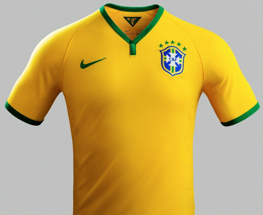 Brazil 2014 World Cup Home Kit (6)