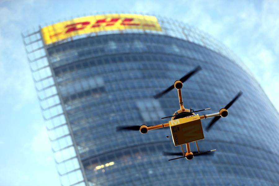 Deutsche Post testet Paket-Drohne