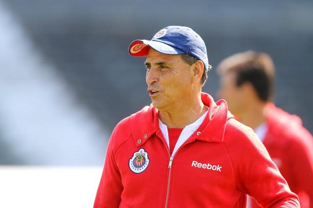 Chivas de Guadalajara coach Jose Luis Re