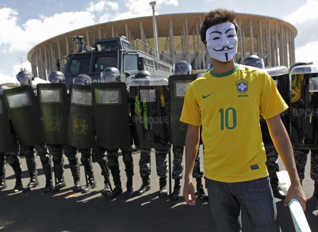 brazil-world-cup-protests-masked-man-neymar-jersey