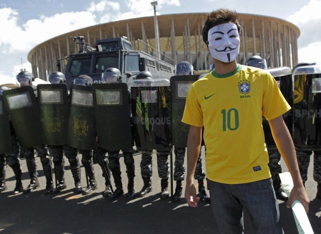 brazil-world-cup-protests-masked-man-neymar-jersey