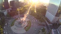El DF visto desde el cielo con drones