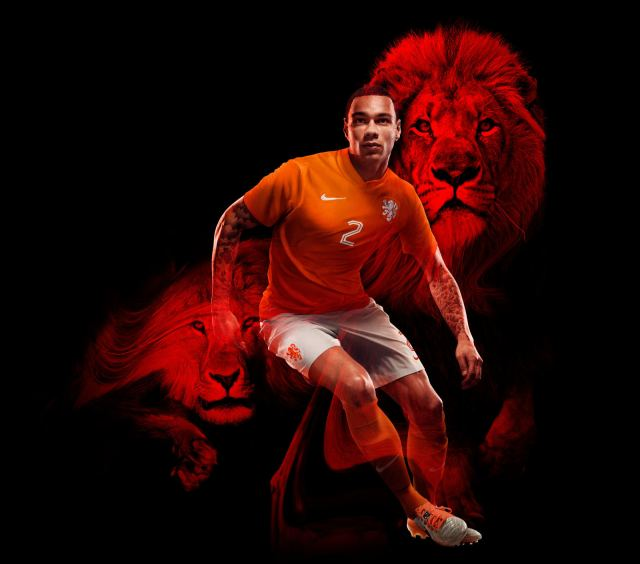 Netherlands 2014 World Cup Home Kit (2)