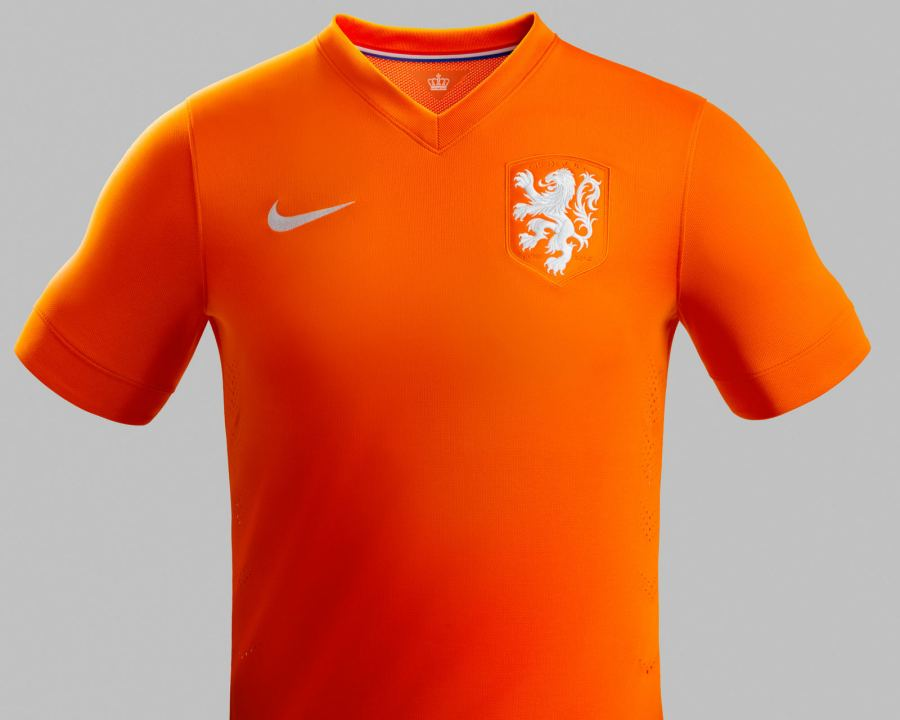 Netherlands 2014 World Cup Home Kit (5)