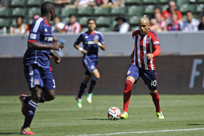 MLS: Chicago Fire at Chivas USA
