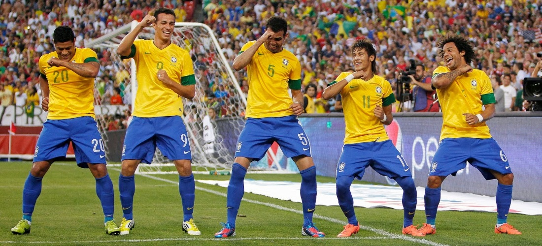 Brazilian Soccer Celebration