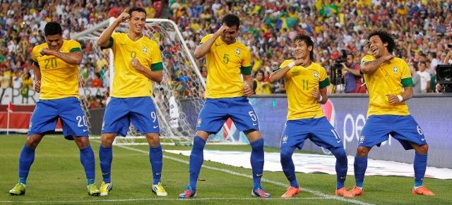 Brazilian Soccer Celebration
