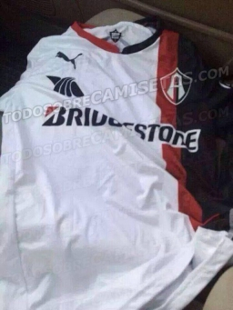 Primera foto de la camiseta Puma de visitante del Atlas; temporada 2014-2015