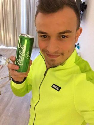 """""""El sabor es realmente bueno. La nueva Coke Like. ¿Ya la probaste? :) ¡Gracias Coke! #CocaCola"""" (Foto: Facebook)"""