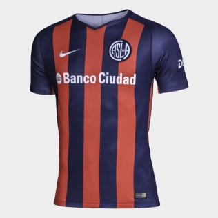 camiseta san lorenzo local 2018