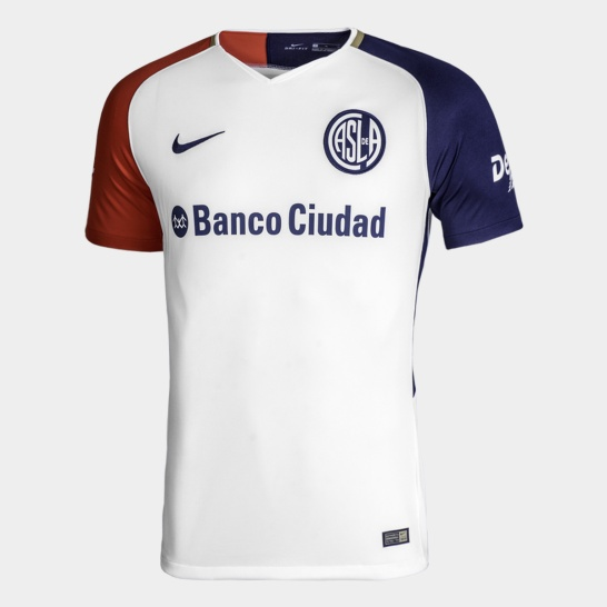 camiseta san lorenzo visitante 2018